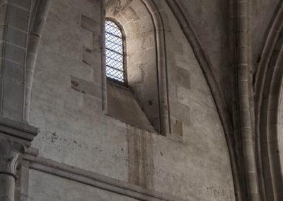L'une des quatre façades