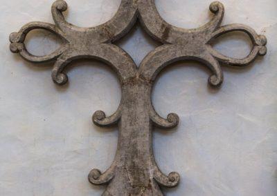 Croix dans la Collégiale de Montréal