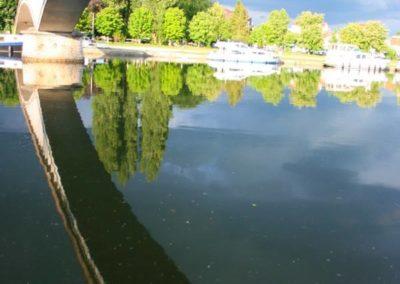 Auxerre - Ciel et passerelle 03