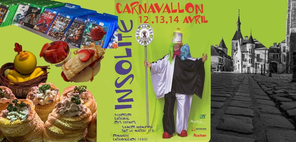 Savourez Avallon à l'occasion du Carnaval