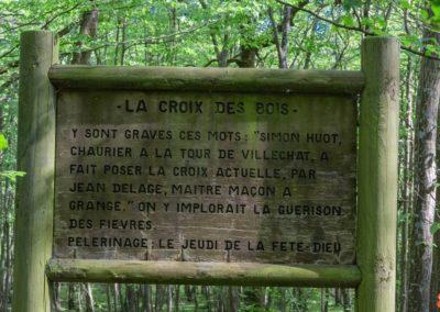 2019 - Forêt de Vauluisant - La croix des bois 01