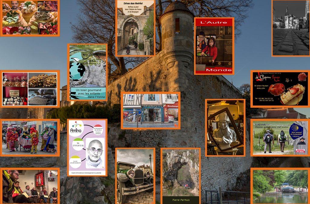 16 portes pour Avallon
