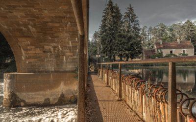 Le barrage à aiguilles du Saussois