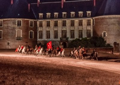 2019 07 21 - Chateau de Saint-Fargeau - Spectacle historique-115