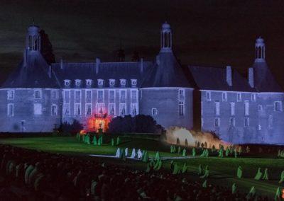 2019 07 21 - Chateau de Saint-Fargeau - Spectacle historique-13