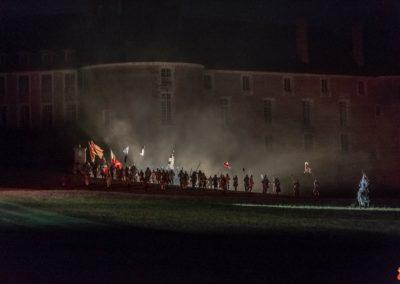 2019 07 21 - Chateau de Saint-Fargeau - Spectacle historique-20