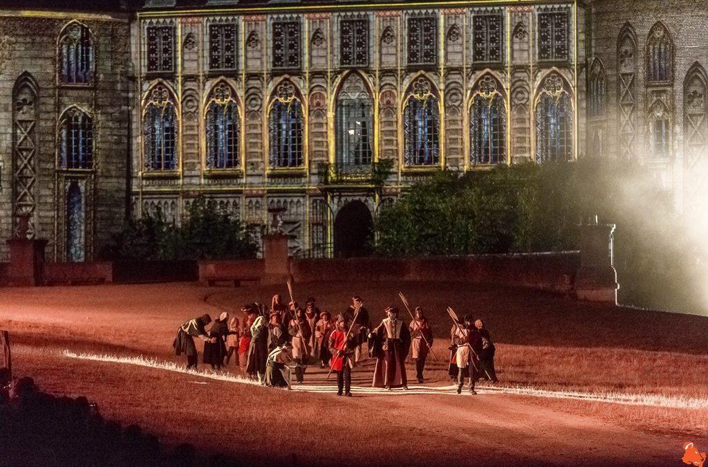 Le spectacle historique du château de Saint-Fargeau
