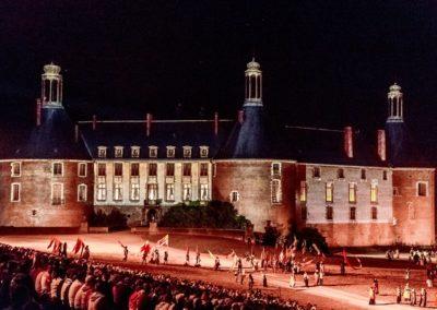 2019 07 21 - Chateau de Saint-Fargeau - Spectacle historique-47