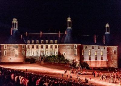 2019 07 21 - Chateau de Saint-Fargeau - Spectacle historique-49