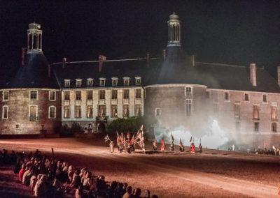 2019 07 21 - Chateau de Saint-Fargeau - Spectacle historique-56