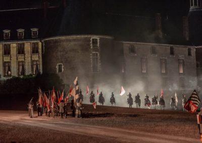2019 07 21 - Chateau de Saint-Fargeau - Spectacle historique-57