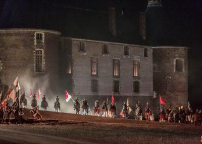 2019 07 21 - Chateau de Saint-Fargeau - Spectacle historique-60