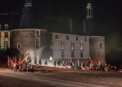 2019 07 21 - Chateau de Saint-Fargeau - Spectacle historique-61