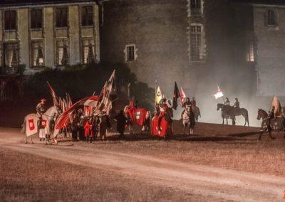 2019 07 21 - Chateau de Saint-Fargeau - Spectacle historique-73