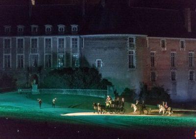 2019 07 21 - Chateau de Saint-Fargeau - Spectacle historique-79