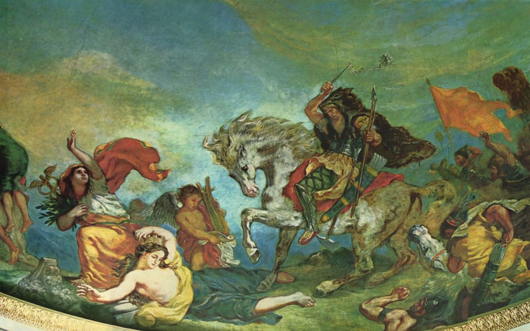 18 Juin 451, l'Appel à la mobilisation des forces alliées repousse Attila en pays Sénon