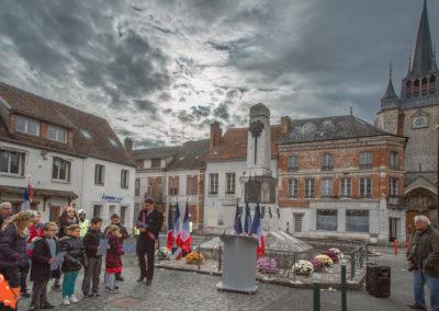 Villeneuve l'Archevêque le 11 novembre 2019