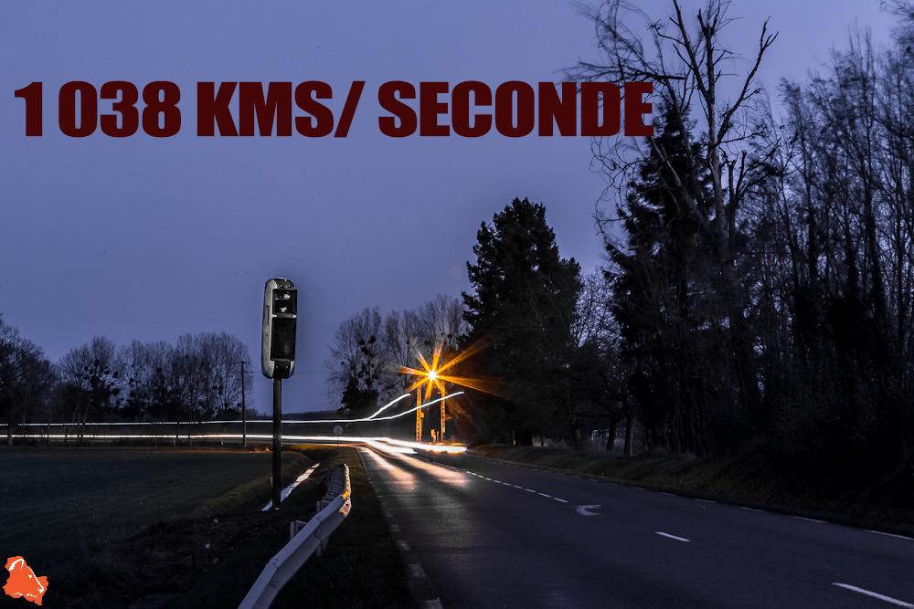 Record de vitesse enregistré par un radar nouvelle génération