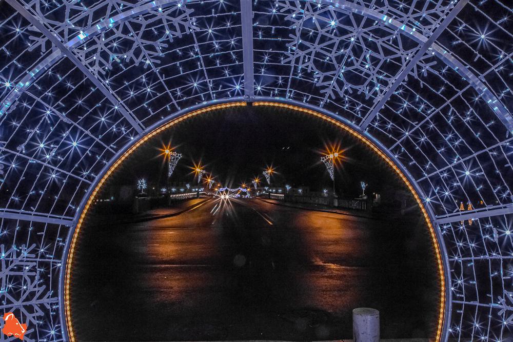 Les illuminations de Noël à Sens, Villeneuve sur Yonne et Joigny